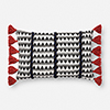 This item: Justina Blakeney Indigo and White 13 In. x 21 In. Pillow Cover
