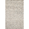 This item: Peregrine Light Gray Runner: 2 Ft. 6 In. x 7 Ft. 6 In. Rug