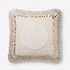This item: Justina Blakeney Natural 22 In. x 22 In. Throw Pillow with Poly Fill