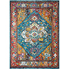 This item: Cielo Blue and Fiesta Rectangular: 5 Ft. x 7 Ft. 6 In. Rug