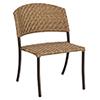 This item: Barlow Bronzed Teak Dining Side Chair