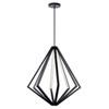 This item: Everest Matte Black Eight-Light LED Chandelier