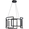 This item: Melko Black Nine-Light LED Pendant