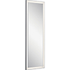 This item: Ryame Silver Matte LED Lighted Mirror
