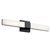This item: Neltev Matte Black 24-Inch LED Wall Sconce