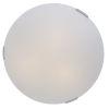 This item: Orinoco Chrome ADA Three-Light Flushmount