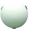 This item: Orinoco Satin Nickel ADA Three-Light Flushmount