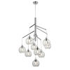 This item: Andromeda Graphite Nine-Light Foyer Pendant with Clear Glass