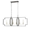 This item: Provence Satin Nickel and Graphite Six-Light Pendant