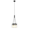 This item: Erin Graphite Six-Light Pendant with Clear Glass
