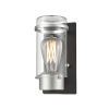 This item: Exeter Stainless Steel and Black ADA One-Light Outdoor Wall Mount