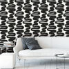 This item: Bobby Berk White and Black Wiggle Room Peel and Stick Wallpaper