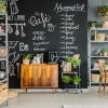 This item: Chalkboard Black Peel and Stick Wallpaper - SAMPLE SWATCH ONLY
