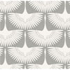 This item: Genevieve Gorder Feather Flock Chalk Removable Wallpaper