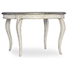 This item: Arabella White 48-Inch Round Leg Table with 1-20-Inch Leaf