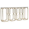 This item: Evermore Gold Console Table