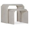 This item: White Nesting Tables