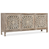 This item: Brown Entertainment Console