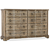 This item: Boheme Adante Light Wood Dresser