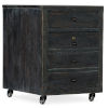 This item: Beaumont Dark Wood 18-Inch Mobile File