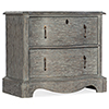 This item: Beaumont Gray Two-Drawer Nightstand