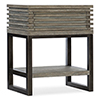 This item: Annex Gray One-Drawer Telephone Table