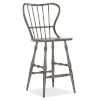 This item: Ciao Bella Gray 49-Inch Spindle Back Bar Stool