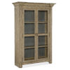 This item: Ciao Bella Light Wood 54-Inch Display Cabinet