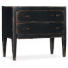 This item: Ciao Bella Black 34-Inch Two-Drawer Nightstand