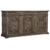 This item: Woodlands Medium Wood 77-Inch Buffet