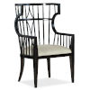 This item: Sanctuary Noir Host Chair