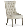 This item: Sanctuary Light Wood Upholstered Chair
