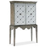 This item: Sanctuary Light Wood Bar Cabinet
