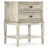 This item: Sanctuary Champagne 22-Inch Two-Drawer Nightstand