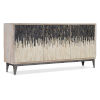 This item: Light Wood Three-Door Entertainment Console