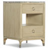 This item: Novella French Vanilla Two-Drawer Nightstand