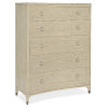 This item: Newport French Vanilla Five-Drawer Chest