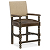 This item: Hill Country Black and Beige Comfort Counter Stool