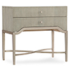 This item: Elixir Beige Two-Drawer Nightstand