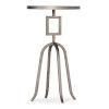 This item: Alfresco Light Silver Martini Table