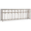 This item: Alfresco Light Silver Console Table