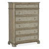 This item: Alfresco Weathered Shale and Light Tusk Six-Drawer Chest