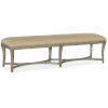This item: Alfresco Oyster Bed Bench