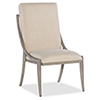 This item: Affinity Gray Slope Side Chair
