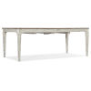 This item: Montebello Danish White and Carob Brown Rectangle Dining Table