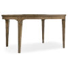 This item: Montebello Carob Brown Round Dining Table