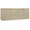 This item: Cascade Taupe 76-Inch Credenza