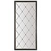 This item: Melange Black Cecilia Floor Mirror