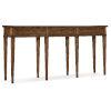 This item: Melange Medium Wood Console Table