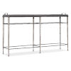 This item: Melange Silver Metal 62-Inch Console Table
